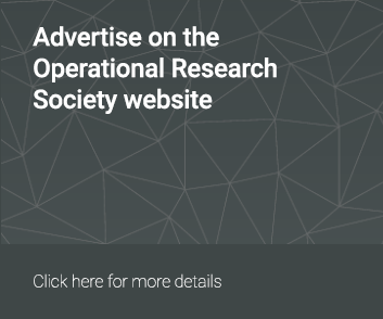 Advertise on The OR Society Website