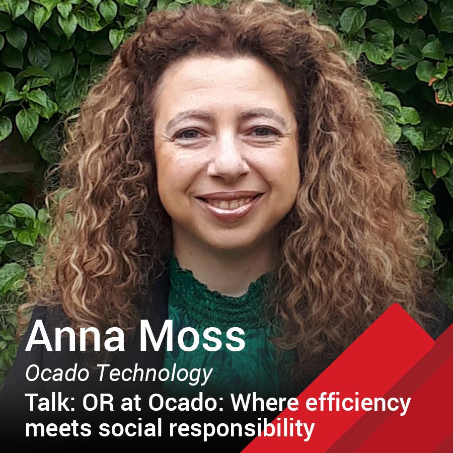 Anna Moss Principal Data Scientist at Ocado Technology