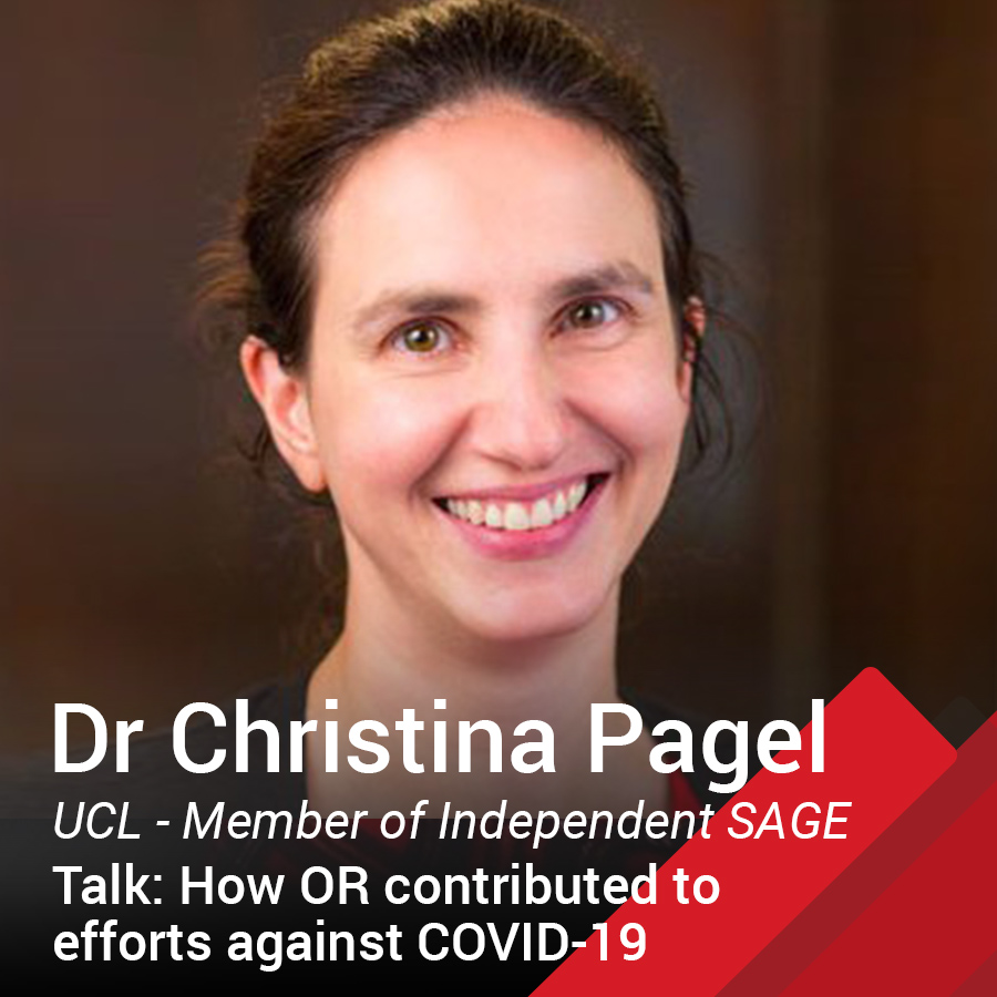 Dr Christina Pagel part of COVID independent SAGE